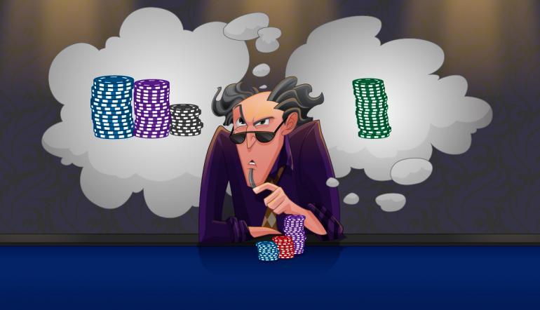 Лимитирование себя в покере